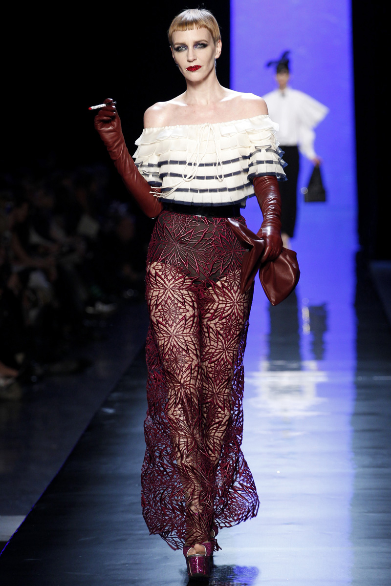 Haute couture gowns fashion never sorry for Jean paul gaultier clothing