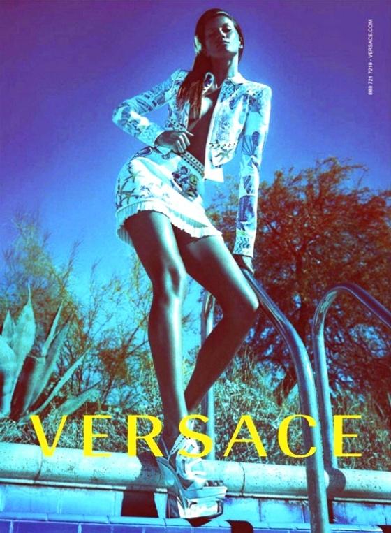 la modella mafia Gisele Bundchen x Versace Spring-Summer 2012 Campaign by Mert & Marcus 3